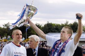Hislop reflects on most important goal of career as Caley Jags prepare to reignite Clyde rivalry