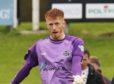 Elgin goalkeeper Thomas McHale
