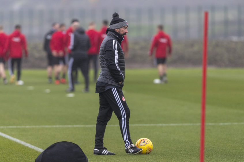 Dons manager McInnes.