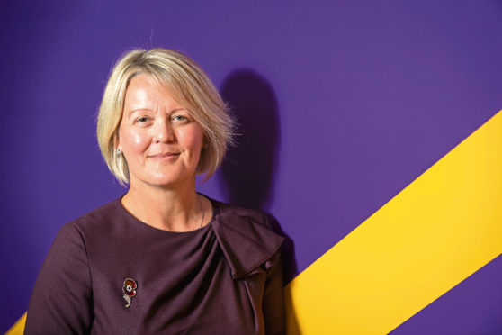 Newly installed RBS Chief Executive Officer Alison Rose.