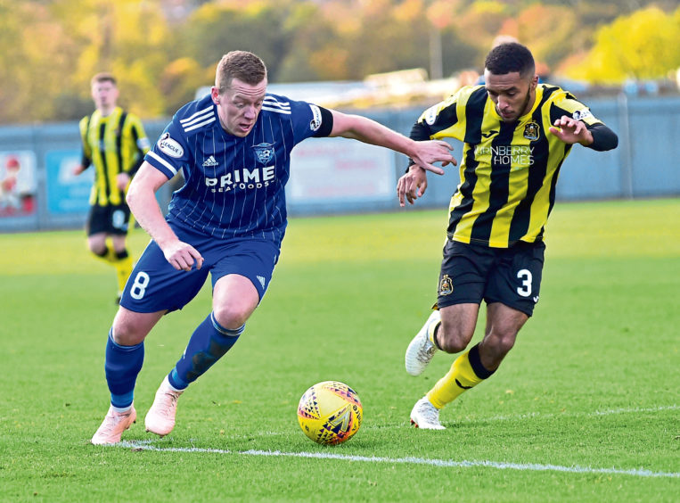Brown out to end Peterhead's wait for victory in Raith Rovers clash - Press and Journal