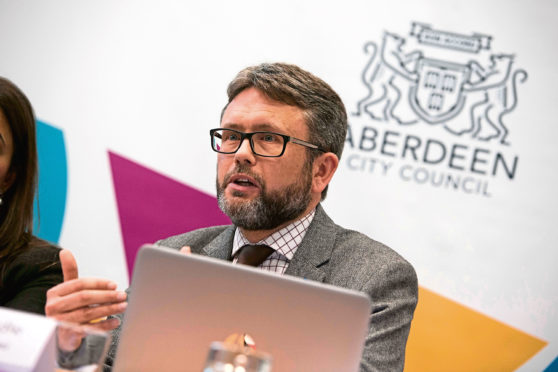 Dougie Peedle, previously chief economic adviser to the States of Jersey ad now a member of the Aberdeen Economic Policy Panel