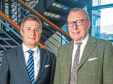 Fraser Porter, CEO (left), and Benny Higgins, non-executive chairman, both of AAB Wealth