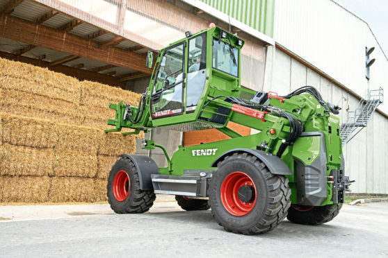 Fendt launched its new Cargo telehandler at Agritechnica 2019.
