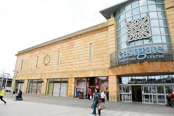 The Eastgate Shopping Centre in Inverness