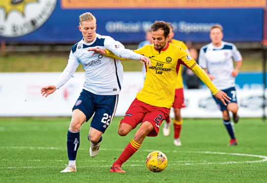 Aberdeen loanee Virtanen loving life at Arbroath | Press and Journal