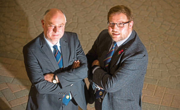 RHASS chairman Bill Gray, left, and chief executive Alan Laidlaw.