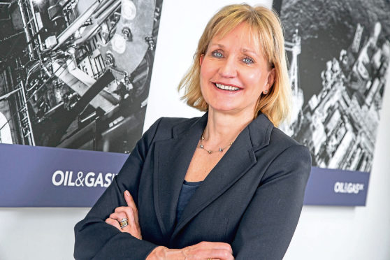 Deirdre Michie, CEO of Oil and Gas UK