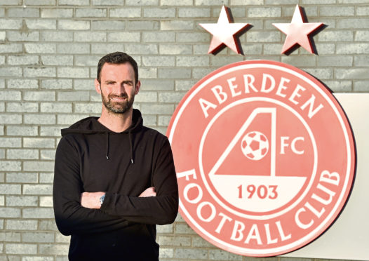 Pictured is Aberdeen Football Club goalkeeper and captain Joe Lewis at Cormark Park. Picture by Darrell Benns