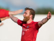 Dale Gillespie scored from the spot for Brora Rangers.