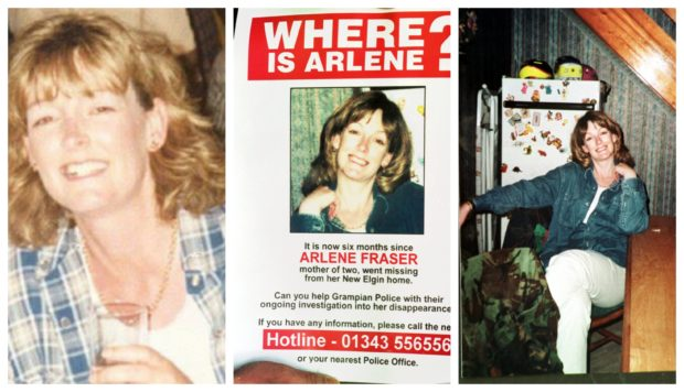 Arlene went missing from her Elgin home in April 1988