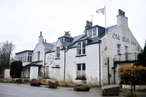Locator of The Old Mill Inn, South Deeside Road, Kirkton of Maryculter. Picture by Chris Sumner.