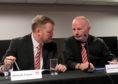 From left: Duncan Fraser, Stewart Milne