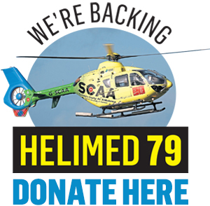 We're Backing Helimed 79: Crisp packet fundraising for Aberdeen-based air