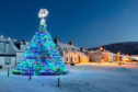 The now famous Ullapool lobster creel Christmas tree