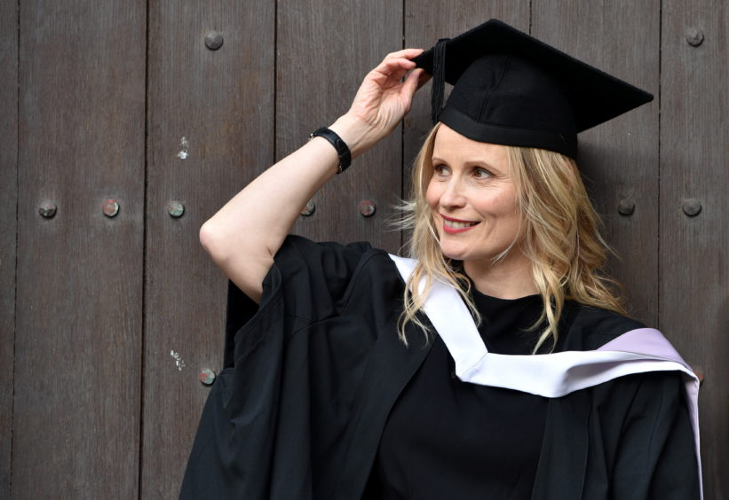 Our favourites stories from day two of Aberdeen University's winter graduations