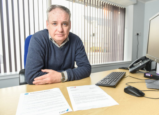 Richard Lochhead. Picture by Jason Hedges.