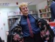 The Shelter Scotland charity shops in Aberdeen have become the ideal bargain-hunting ground for fashion savvy young men thanks to a donation of new designer menswear. Picture by Kath Flannery