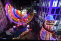 Aberdeen Christmas Village. Picture by Kenny Elrick
