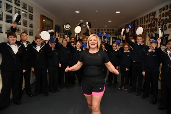 Marlene Mowatt has secured a place in the London marathon and will be running to raise funds for Peterhead Sea Cadets.