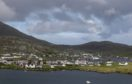 A general view of Castlebay in Barra