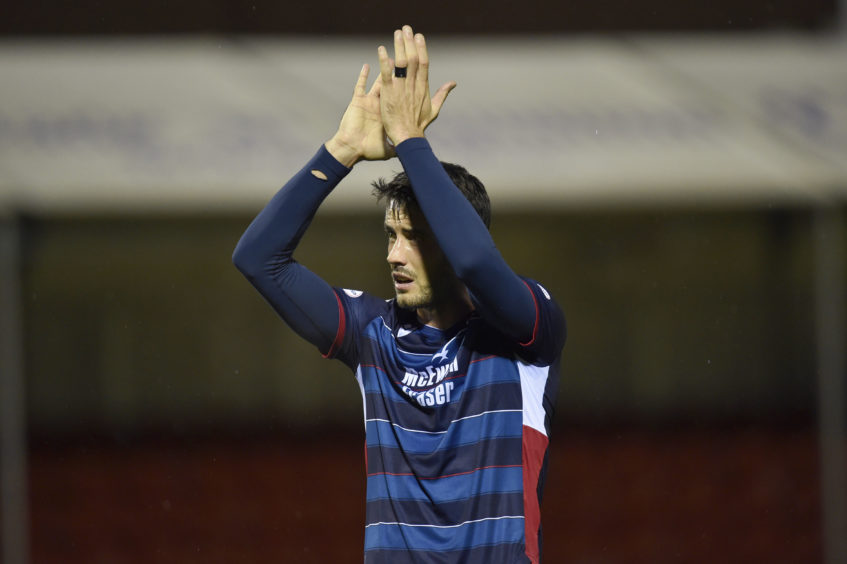 Ross County's Brian Graham at full time of the Ladbrokes Premiership match between Hamilton and Ross County