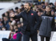 Aberdeen manager Derek McInnes pictured during the Ladbrokes Premiership match between Ross County and Aberdeen at the Global Energy Stadium, on November 9, 2019, in Dingwall, Scotland.