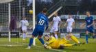 Aaron Doran scores for Inverness.