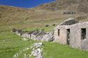 An abandoned village on St Kilda