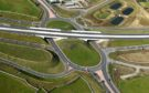 Roundabout connecting the AWPR with Kingswells/Westhill at the A944. Picture by DARRELL BENNS / CABRO AVIATION and HJS HELICOPTERS