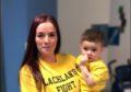 Sarah Jane Galbraith  with son Lachlan Stewart  Submitted by Sarah Galbraith 07/11/19