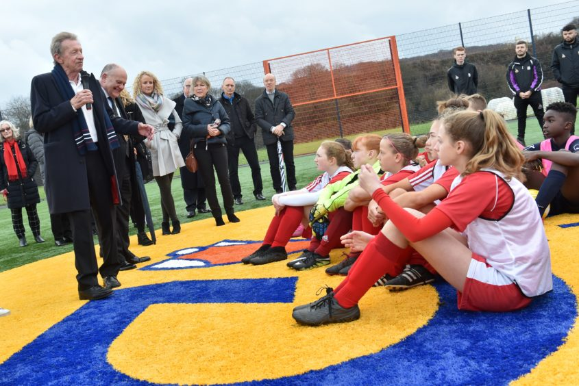 VIDEO: 'Lasting legacy' of Neale Cooper unveiled in Aberdeen's second Cruyff Court | Press and Journal