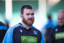 Glasgow Warriors' D'Arcy Rae is pictured during a training session.