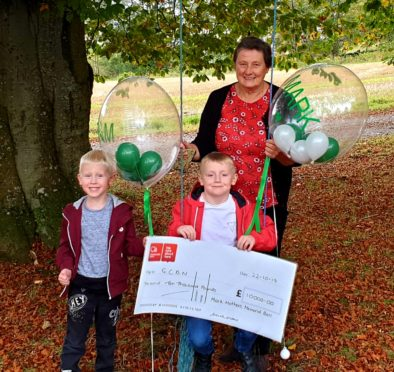 Grieving north-east family raises thousands for bereavement charity in tribute to devoted dad   Press and Journal