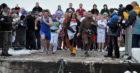 Burghead Boxing day charity swim.
