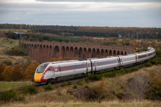 Azuma 'bullet' trains leave Inverness for the first time | Press and Journal