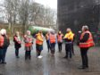 Banffshire Coast Learning Journey outside Macduff Distillery