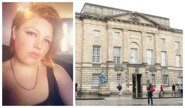 Sasha Peel was sentenced at the High Court in Edinburgh