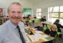 Keith Wynn Adams. Head teacher Lochaline Primary School