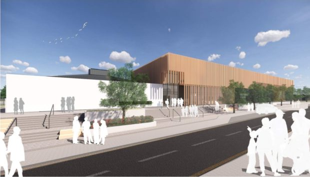 Artist's impression of the new Milltimber Primary School by architects Scott Brownrigg