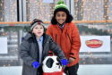 Pictured are, from left, Diesel and Tyler from Mile End School.