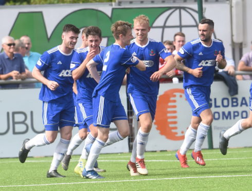 Harry Milne has tasted success in each of his seasons with Cove Rangers.