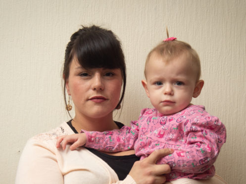 Mum Kylie Thomas with daughter Keira Leslie. Picture by Jason