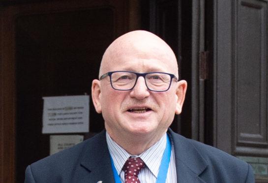 Aberdeen councillor Alan Donnelly