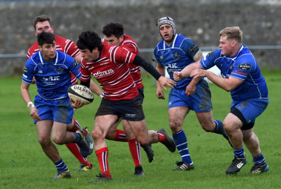 Sam Knudson urges Aberdeen Grammar to reclaim play-off momentum at Jed Forest   Press and Journal