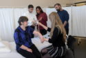 The Patient Partner programme sees people volunteer and dedicate their free time to help medical students at Aberdeen University. Picture by Kath Flannery