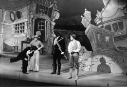 A scene from the Inverness panto in 1976.