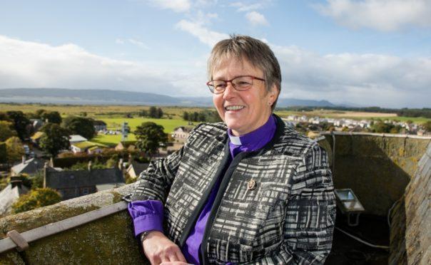 Rev Susan Brown of Dornoch Cathedral.