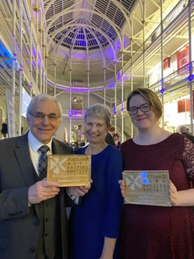 Sandstone have won the Publisher of the Year. Pic: Graham Clark.