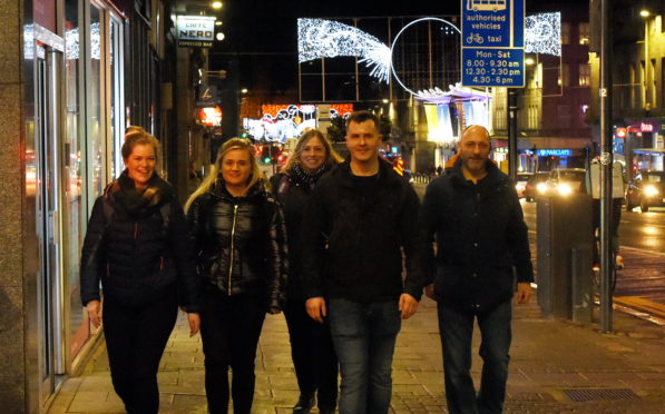 Police, nurses and support workers touring the city centre to speak to homeless people ahead of cold winter.